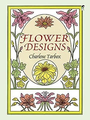 Flower Designs Dover Pictorial Archive Charlene Tarbox