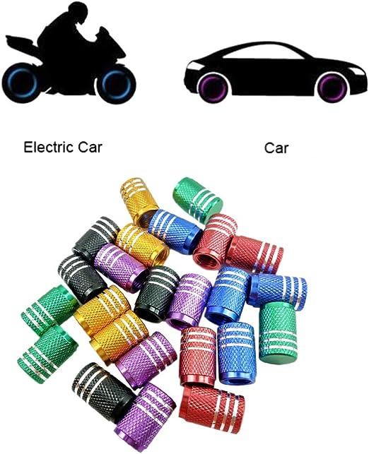 New Generic 4Pcs Carbon Fiber Car Wheel Tyre Dust Cover Tire Valve Cap For Tesla
