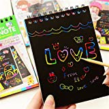 WYBS Kids Rainbow Colorful Scratch Art Kit Magic - Best Reviews Guide