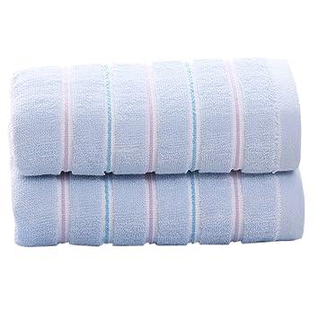 pidada 100% algodón Toallas de mano Set de 2 suave muy absorbente lujo multiuso para baño, mano, cara, gimnasio y Spa 13 x 29 inch: Amazon.es: Hogar