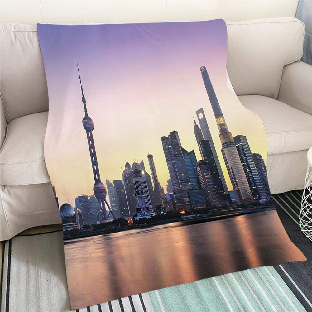 color2 31 x 47in BEICICI Art Design Photos Cool Quilt Sunrise in The Alps Pordoi Pass Dolomites Mountain Landscape  Art Blanket as Bedspread gold White Bed or Couch