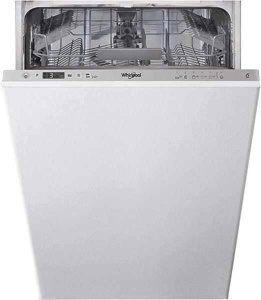 Lave Vaisselle Encastrable Whirlpool Wsic3m17 Lave Vaisselle Tout Integrable 45 Cm Classe A 47 Decibels 10 Couverts Amazon Fr Gros Electromenager