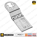 50pk Fast Cut Wood & Plastic Multi Tool Blades Compatible With Fein multimaster