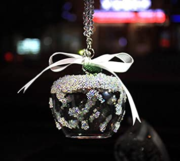 Car Rear View Mirror Ornament Car Pendant Swarovski