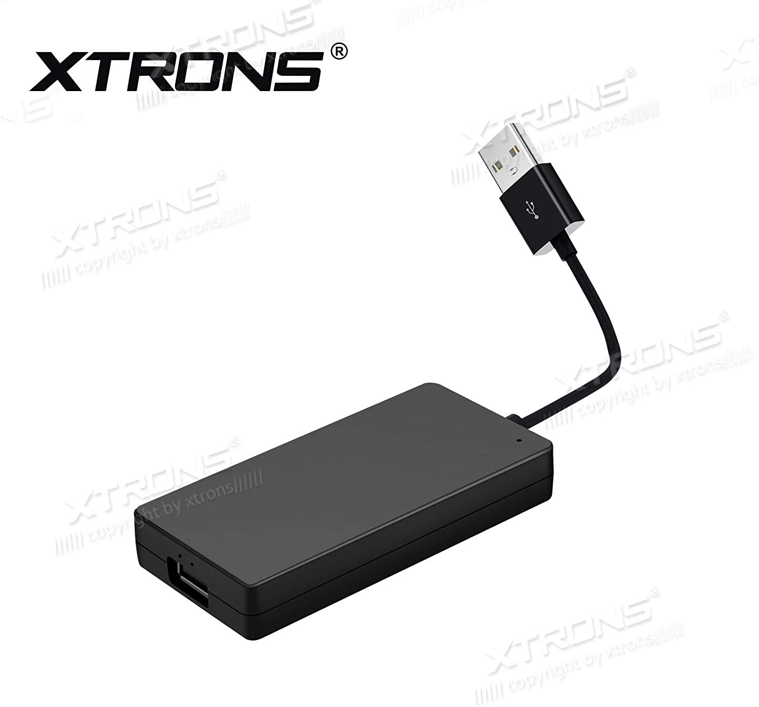 XTRONS Wireless Car Auto Play Mini Dongle USB Android Auto Receiver Adapter for iPhone & Android Smartphone Work with Android Car Stereo GPS Navigation DVD Radio Player