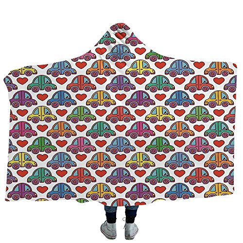 ISMYPRINT Hooded Blanket Dog Lover Deluxe Blanket Relieves for sale  Delivered anywhere in USA