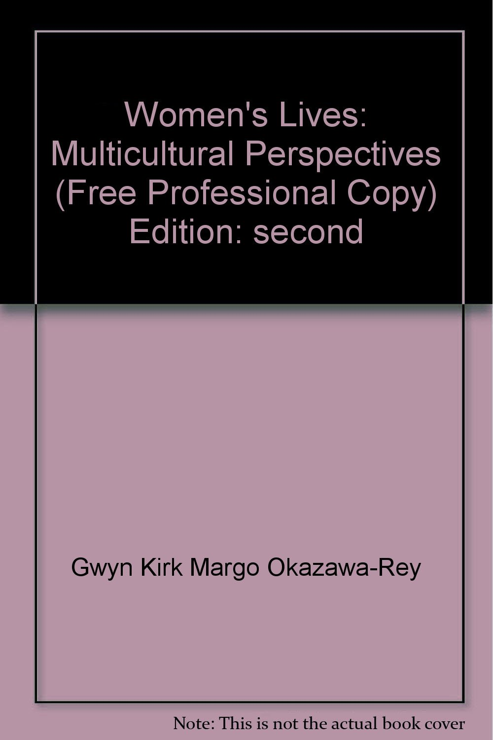 Women's Lives (Multicultural Perspectives) PDF