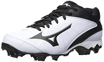 752be08be Mizuno 9-Spike Advanced Finch Elite 2 Molded Fastpitch Softball Cleat White Black  5