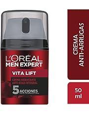 L'Oréal Paris Men Expert Vitalift Crema Hidratante, 5 Acciones - 50 ml