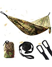 NATUREFUN Ultra-Light Travel Camping Hammock/Bug Net Hammock Outdoor Indoor
