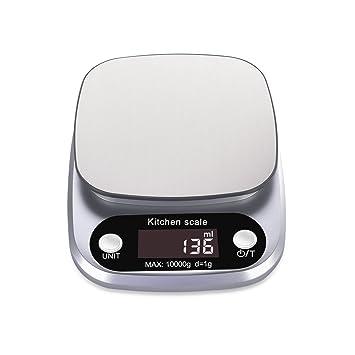 digitale küchenwaage 10 kg 1 g rophie digitalwaage küche weiß