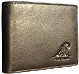 Mt. Eston RFID Blocking Trifold Bifold Mens Wallet, 18 Pocket Extra Capacity