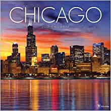 2017 chicago wall calendar tf publishing 9781624386404 books. Black Bedroom Furniture Sets. Home Design Ideas