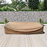 Modenzi All-Weather Patio Furniture Cover (119'' x 60'' x 24.5'')