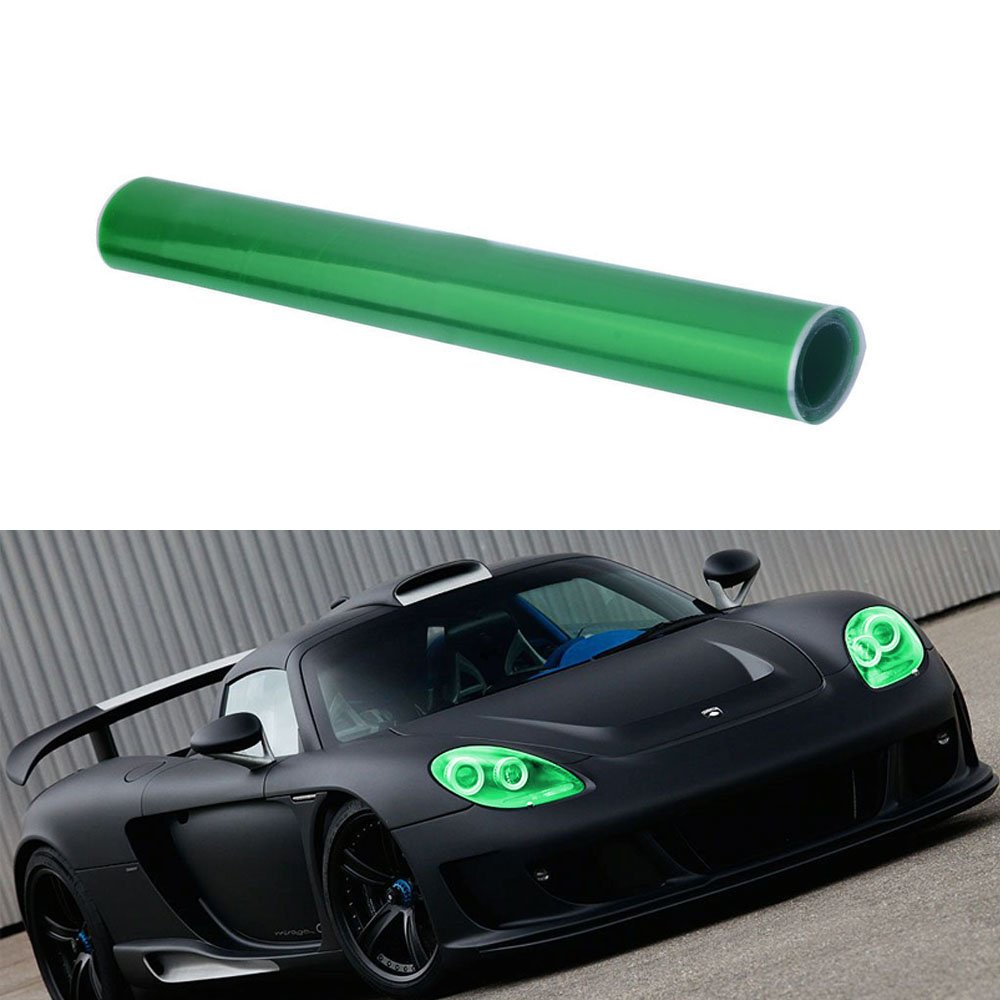 W*L Glossy Color Vinyl Film Tint Universal For Headlights Fog Light Lamps Taillights 30*100cm//12*40inch , Purple