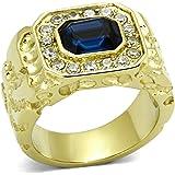 ISADY - Empire - Men's Ring - Cubic Zirconia Blue