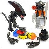 R6 Lego Custom Alien vs Predator Human Chestburster Egg Huggers Minifigures NEW
