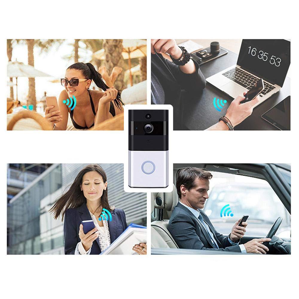 Door Chime, KOBWA Wireless Door Open Chime Door Entry Alarm Magnetic Door Chime Sensor Specially Used KOBWA Video Doorbell 433MHz