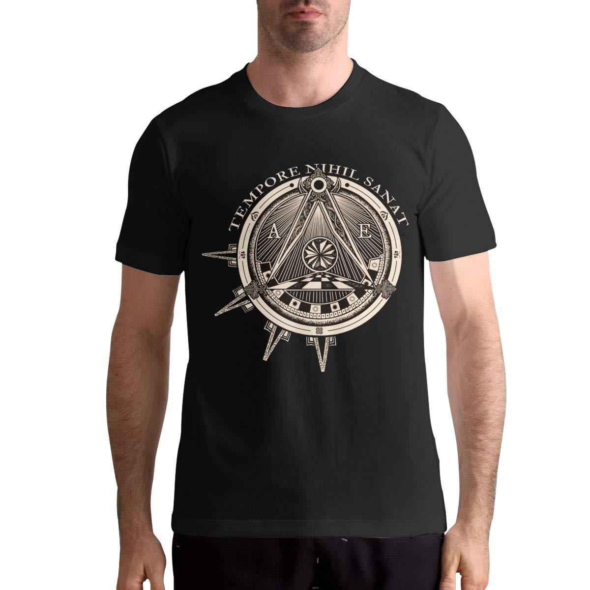 Hye D Riche Arch Enemy Logo Men Funny Short Sleeve Music Band Shirt Shirt Black