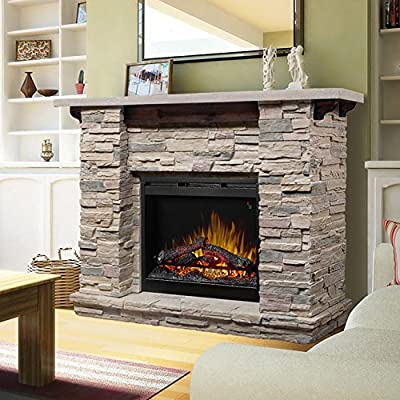 Amazon Com Dimplex Featherston 61 Electric Fireplace Mantel In