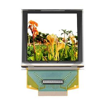 Módulo de pantalla OLED, Módulo gráfico de pantalla en color OLED de 1.5 pulgadas 128 * 128 SSD1351 Interfaz periférica en serie pequeños componentes electrónicos Pantalla OLED: Amazon.es: Industria, empresas y ciencia
