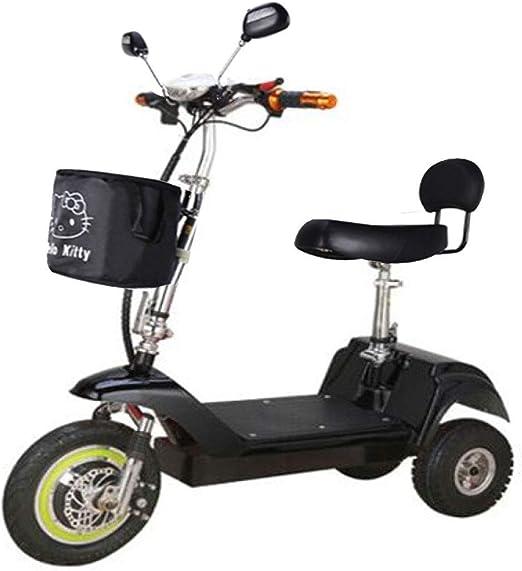 CYGGL Vehículo eléctrico de Tres Ruedas Adecuado para el Anciano ...