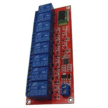 MagiDeal 8 Kanal Relais Modul Optokoppler passend für Arduino GPS Zubehör 12V Auto-Elektronik Zubehör