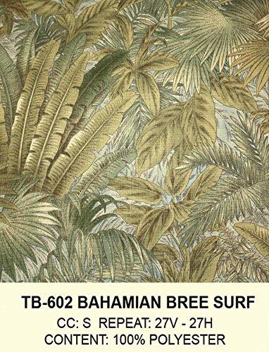 Hospitality Rattan 401-1365-TCA-L Cancun Palm Upholstered Rattan & Wicker Loveseat, Bahamian Breeze Surf price