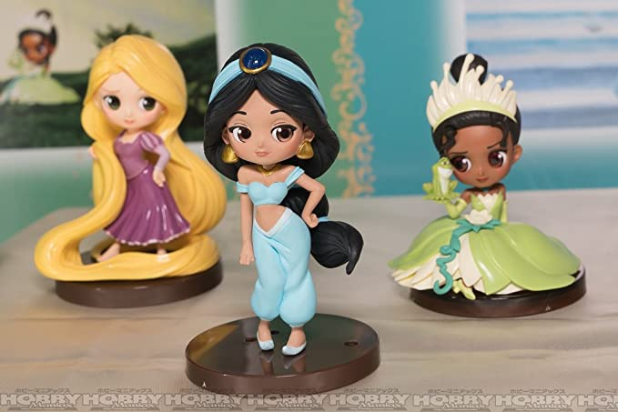 全3種セット 【ベル・ ラプンツェル・ ムーラン】 Q posket Disney Characters Petit vol.3