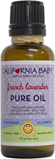 product image for California Baby French Lavender Bath Drops for Kids | 100% Plant Based | Aromatherapy Essential Oils with Lecithin Natural Safflower | Calming, Relaxing Bedtime Support for Baby or Adults | (1oz)