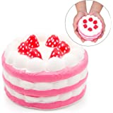 SPECOOL Stress Reliever Strawberry Cake Scented Super Slow Rising Juguete para niños