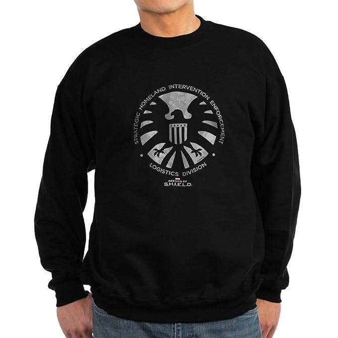36d03e9aa51 CafePress Marvel Agents Of S.H.I.E.L.D. Classic Crew Neck Sweatshirt Black