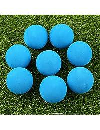 20 piezas Siete Colores Espuma pelota de golf interior de ejercicio EVA Color Sólido