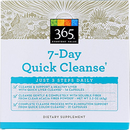 365 Everyday Value, 7 Day Quick Cleanse Kit, 1 oz 61nSrwzyDWL