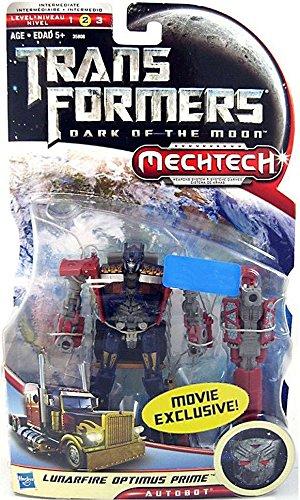 Hasbro Transformers Dark of the Moon Mechtech Lunarfire Optimus Prime Deluxe Action -