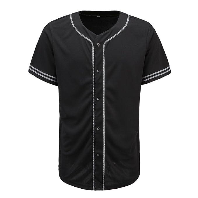 Scarcewear kids plain black baseball jersey