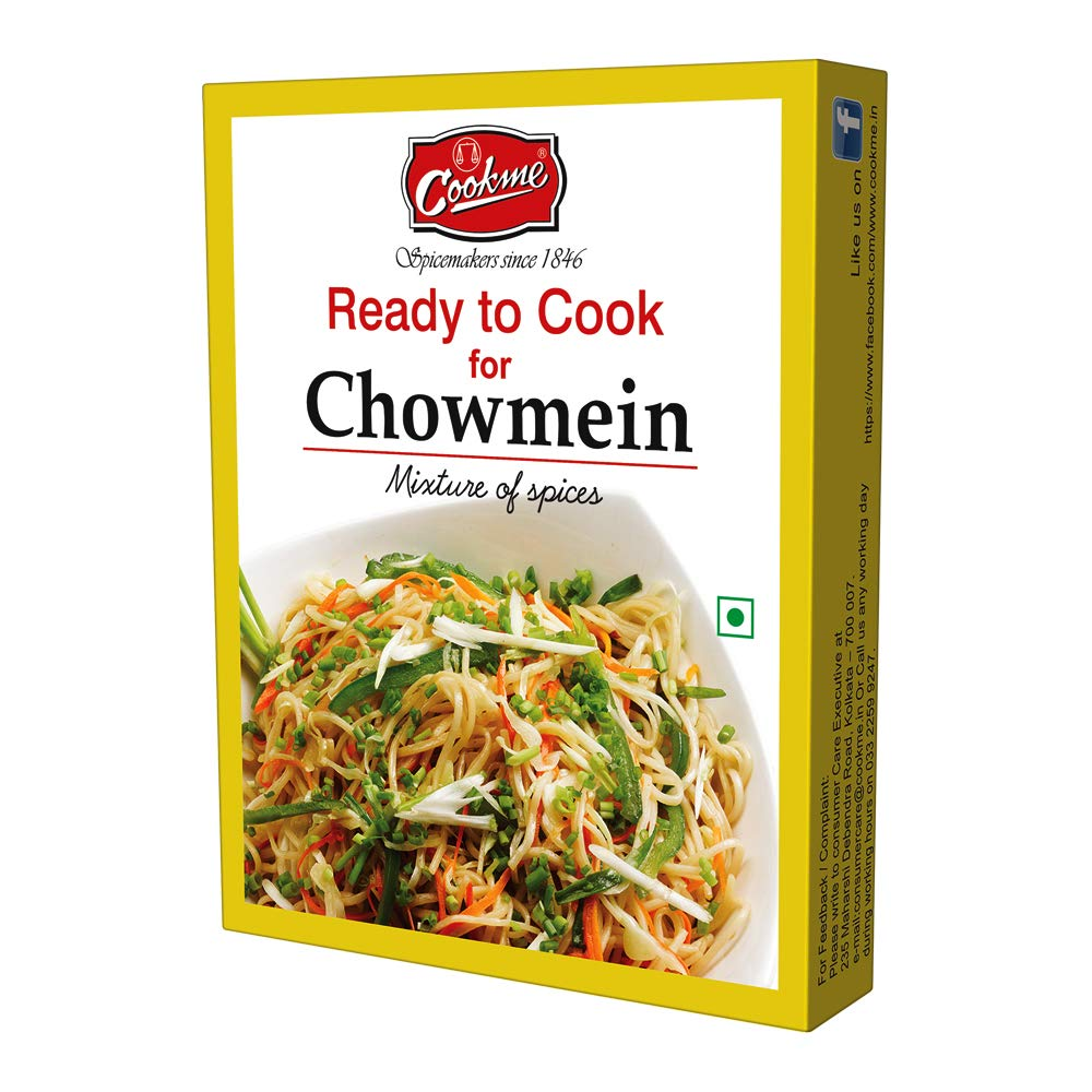 Amazon com : Cookme (Kolkata) Chowmein Mix, Ready to Cook Indian