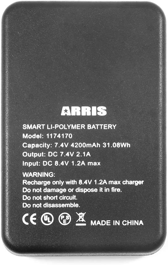 7.4V 4200Mah Rechargeable Battery for ARRIS Heating Waist Belt or Heated Knee Wrap