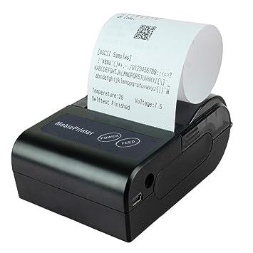ideapro] inalámbrico Bluetooth Impresora Térmica HB4 58 mm ...