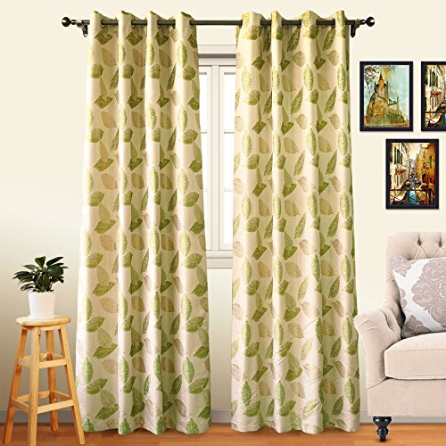 af Patio Curtains Home Fashion Grommet Top Eatra Long Window Curtains/Draperies for Patio Door (One Pair, 52