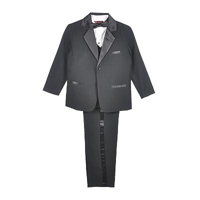 Kaifer Big Boys' 5-Piece Tuxedo