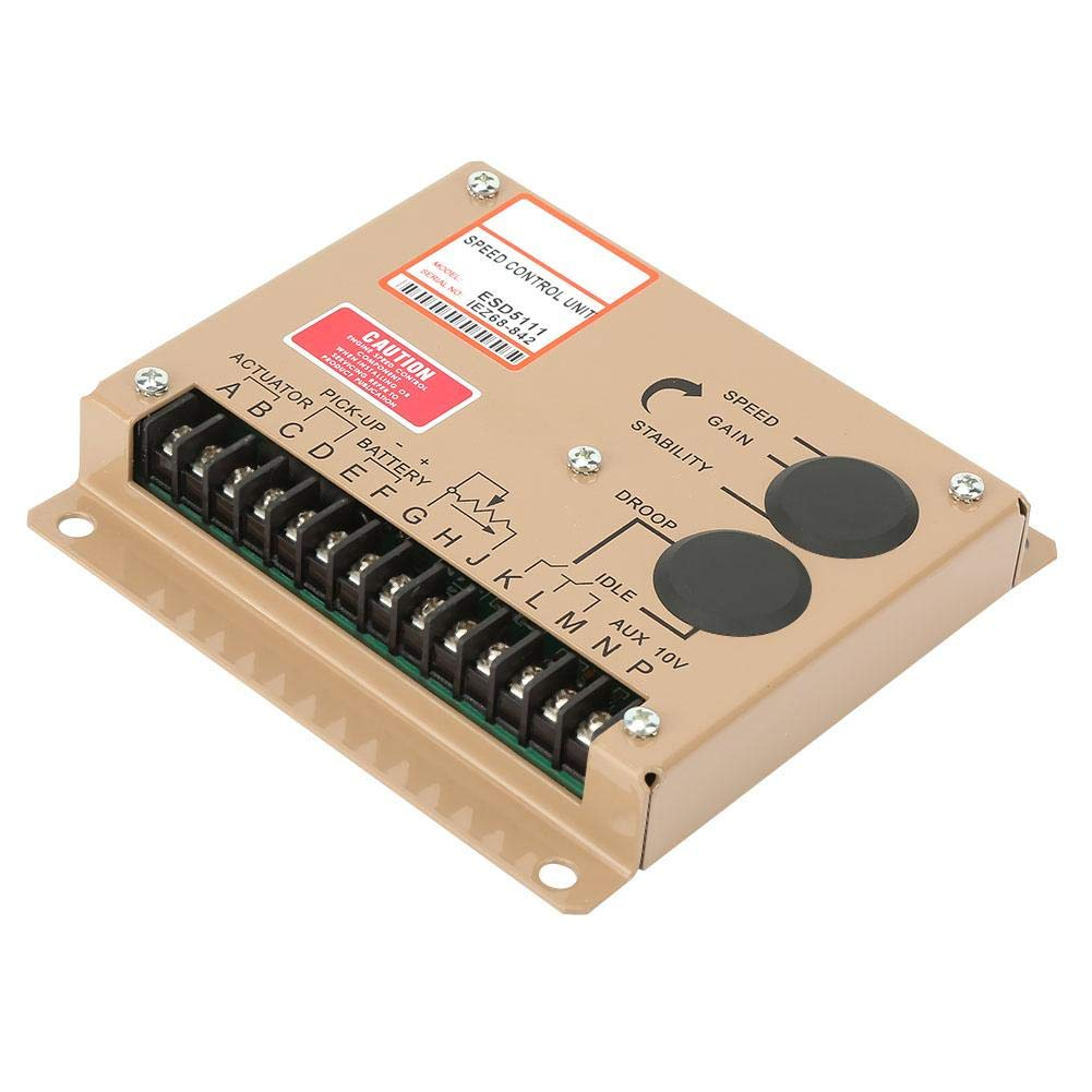 ESD5111 Generator electronic engine speed controller for motor speed control adjustable speed regulator board by Wal front