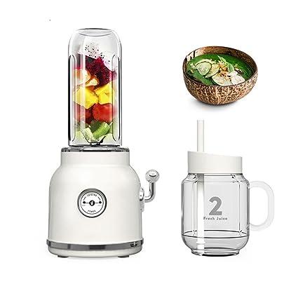 Juicer Portable Fruta Parachoques exprimidor casero automático de Frutas y Verduras Multifuncional Máquina de Jugo Pequeño