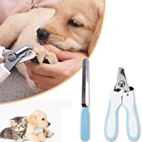 Alloy Pet Puppy Cat Dog Nail Clipper Claw Cutter Pet Grooming Scissor Tool with Nail File