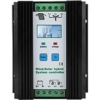 Control Solar del Sistema Híbrido Eólico Control De Energía Inteligente Digital Impulsar El Regulador De Carga