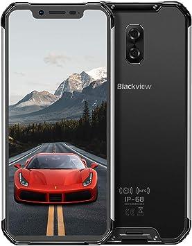 Móvil Libre Resistente(2020), Blackview BV9600 Telefono Móvil Antigolpes, 6,2 Pulgadas FHD+ AMOLED Pantalla, 4GB+64GB, 5580mAh,16MP+8MP Smartphone Impermeable IP68, Android 9.0, 4G Dual SIM/NFC-Gris: Amazon.es: Electrónica