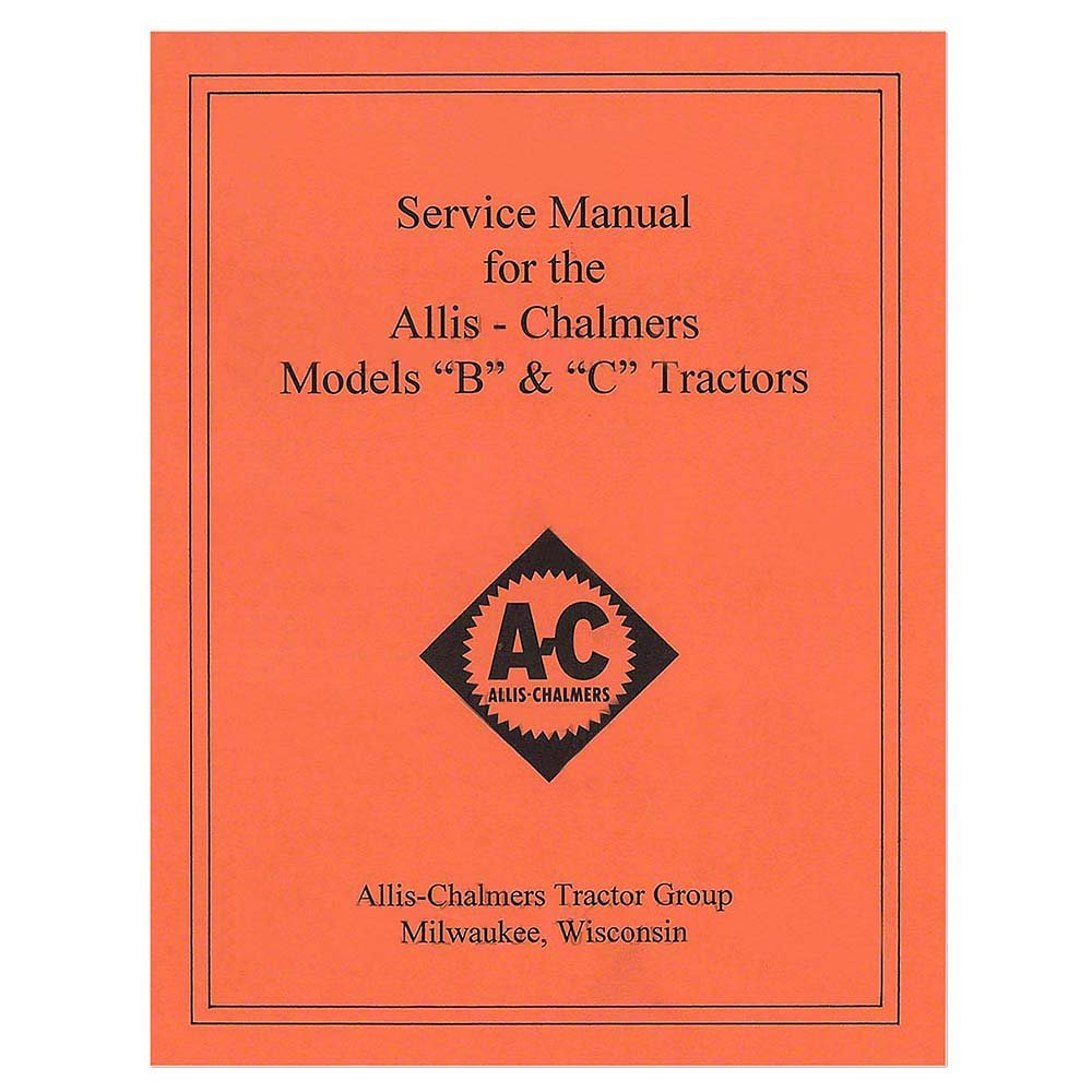 Rep036 New Tractor Service Manual W Wiring Diagram For Massey Ferguson 360 Allis Chalmers B C Industrial Scientific