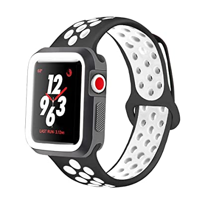 Amazon.com: KINPEI Compatible with Apple Watch Series 1/2/3 ...