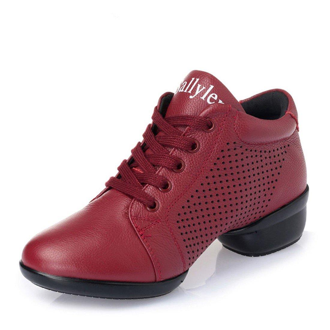 WXMDDN Das Mädchen Marine Mann Dance Dance Dance Schuhe rote Schuhe atmungsaktiv unten Dance Schuhe Vier Jahreszeiten B0787XNNV2 Tanzschuhe Vollständige Spezifikationen 43dd28