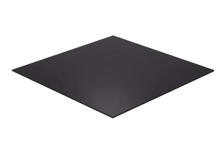 "1//4/"" Thick Falken Design BK2025-1-4//1224 Acrylic Black Sheet 12/"" x 24/"""